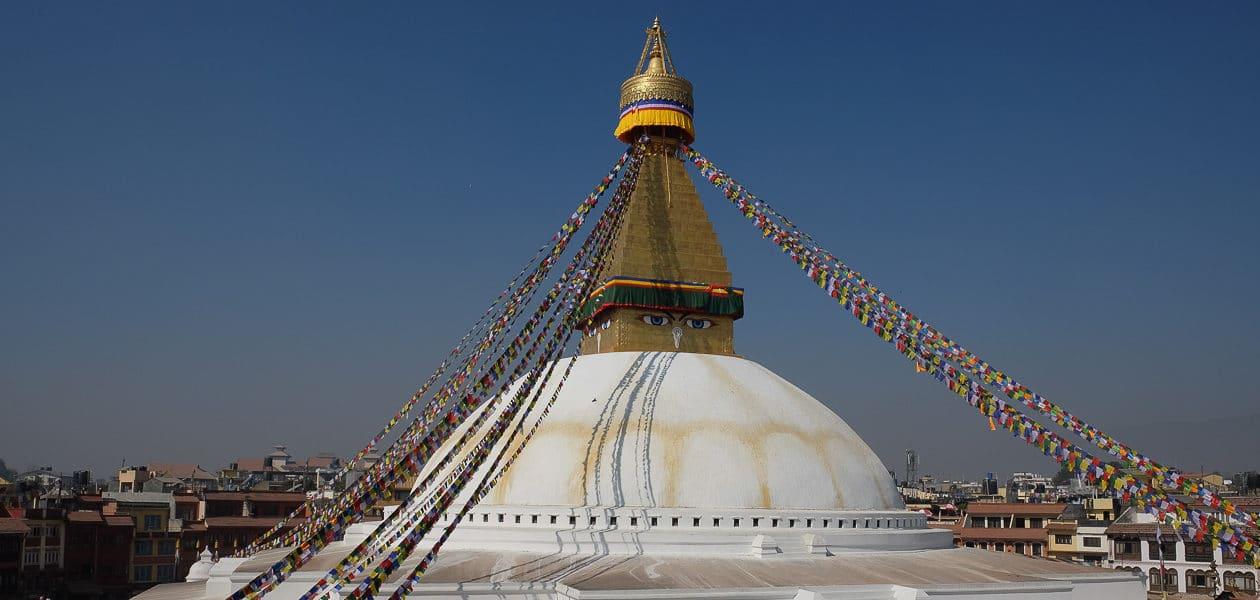 Népal bodnath tour du monde